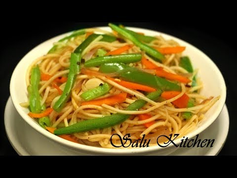 How To Make Easy Vegetable Noodles Youtube