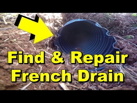 Downspout Drain Cleaning in Farmersville