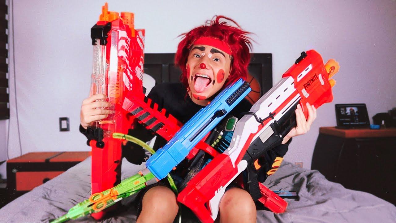 Toda mi colección de Pistolas NERF I Lapizin Crack