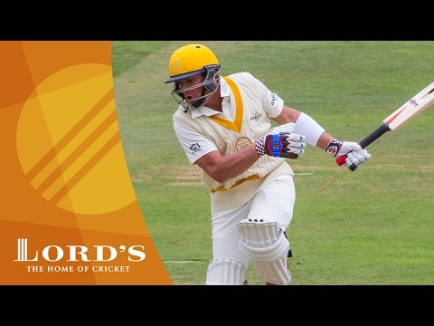 Brett Lee Breaks Shane Warne's Hand | MCC vs ROW Lord's ...