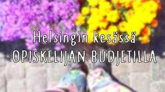 Mitä tehdä kesällä Helsingissä opiskelijan budjetilla?