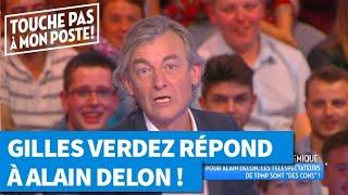 Gilles Verdez répond à Alain Delon dans TPMP