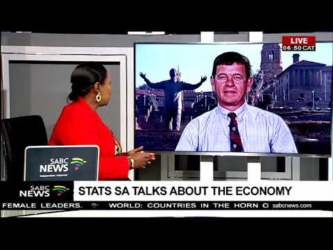 Stats SA talks about the economy