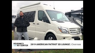 2019 American Coach Patriot SD Lounge Class B Diesel Motorhome