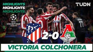 Highlights | Atlético de Madrid 2 - 0 Lokomotiv Moscow | Champions League - J 6 - Grupo D | TUDN