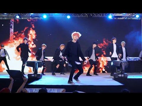 161001 BangEarn cover BTS - N.O+Concept Trailer+Save ME+I Like It+Danger @ Esplanade#3 (BIG FINAL)