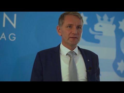 Statement von Björn Höcke, AfD zur Wahl von Ramelow zum Ministerpräsidenten in Thüringen. 04.03.2020