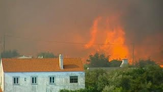Incendies au Portugal : 1 000 pompiers mobilisés contre les flammes