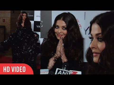 Aishwarya Rai Bachchan at Vogue Women Of The Year Awards 2017 | wins Vogue Influencer Of The Decade