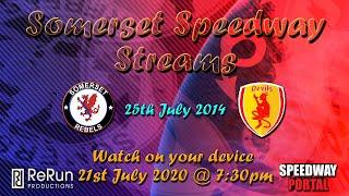 Somerset 'Rebels' vs Plymouth 'Devils' : Premier League : 25/07/2014