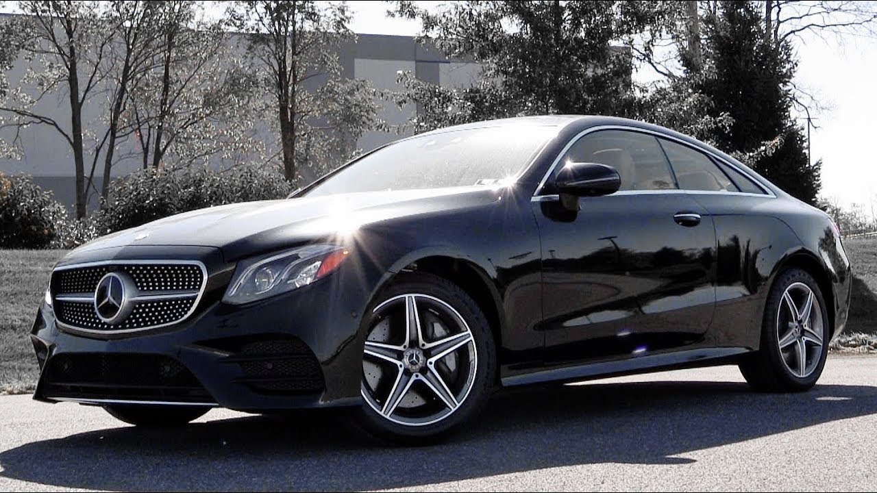 2018 Mercedes Benz E400 Coupe Review YouTube