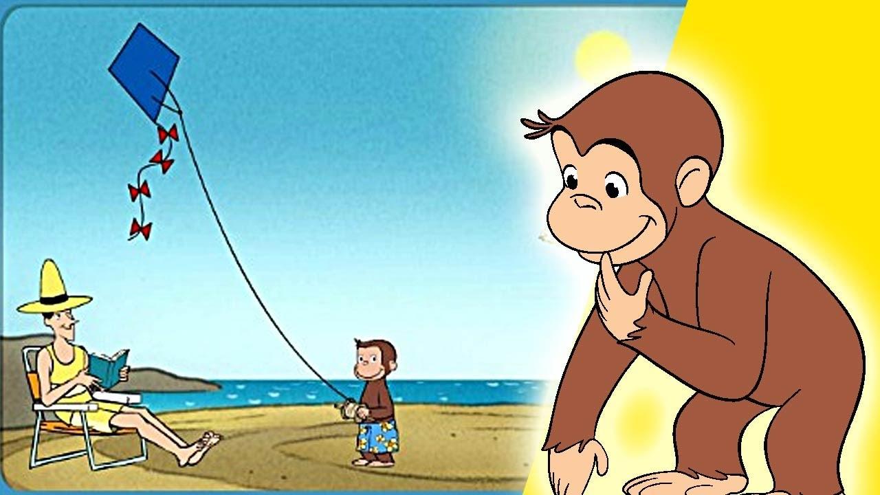 Jorge el Curioso en Español,Jorge en la playa, juego ...