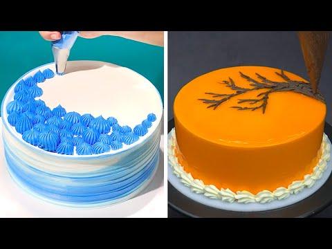 Quick Cake decorating