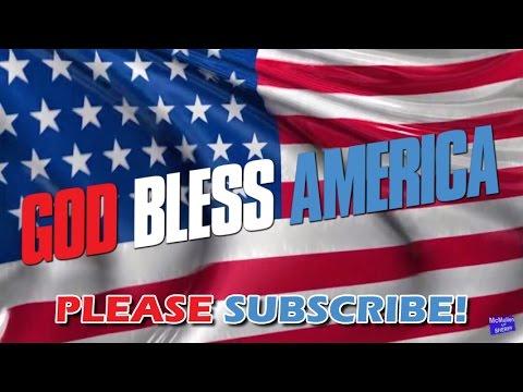 American Flag Loop Background (HD)