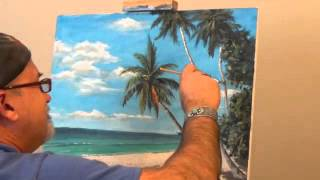 Video How to paint beach scenes - Adele Island Palms download MP3, 3GP, MP4, WEBM, AVI, FLV Juni 2018