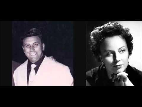 """Aldo Protti & Magda Olivero """"Madamigella Valéry"""" La Traviata"""