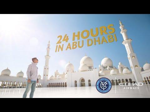 24 Hours in Abu Dhabi with New York City FC - Etihad Airways