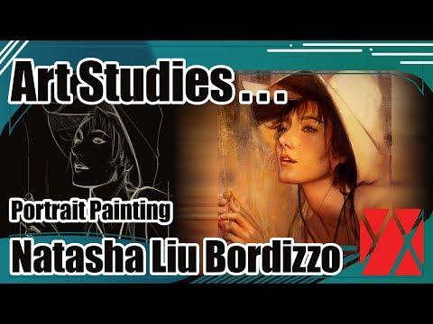 Portrait Painting Process: Natasha Liu Bordizzo streaming vf