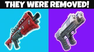7 Things That Were JUST REMOVED From Fortnite..