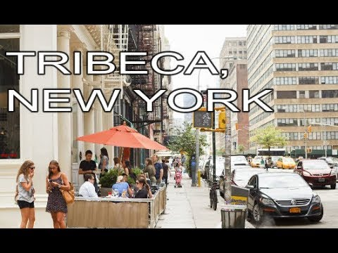 Tribeca, Lower Manhattan, New York City | Street Walk