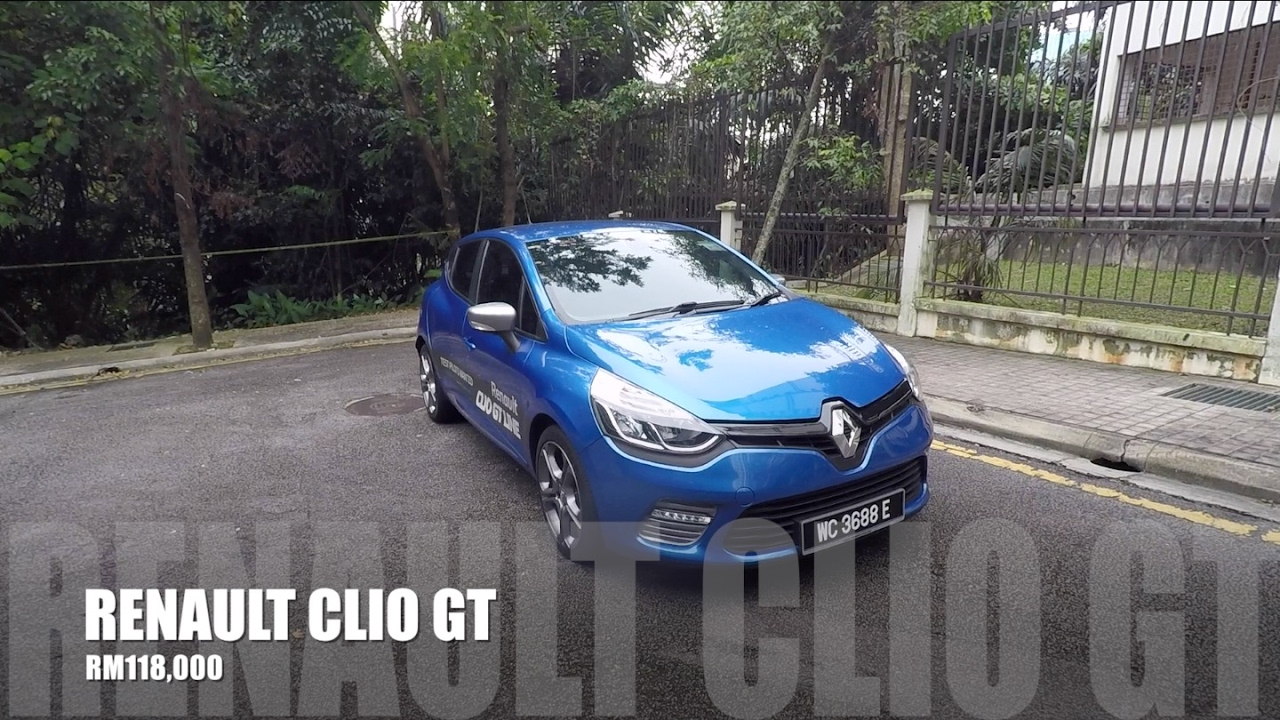 2017 Renault Clio Gt 1 2 Turbo Full In Depth Review Bobby Ang