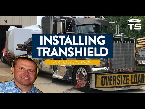 How to Install Transhield Cover on Large Industrial Heavy Equipment | Custom Fit Shrink Wrap Cover
