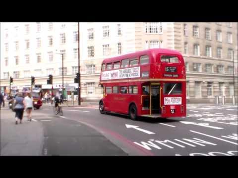 Buses in Westminster Bridge Road 18/08/2016