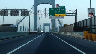 Throgs Neck Bridge southbound