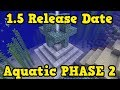 Minecraft PE / Xbox 1.5 Update Aquatic RELEASE DATE Analysis