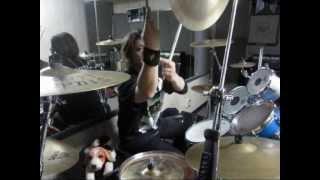 """Heavy Metal Drummer """"BANZON"""" from Japan. BANZON plays 「IMITATION O..."""