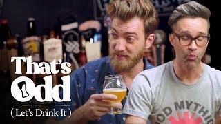 Rhett & Link Taste a Beer Made with Human Saliva | That
