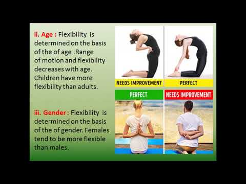 Flexible more are females ELI5: Why
