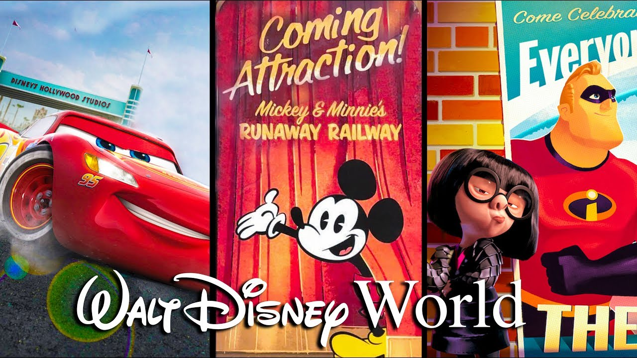 Top 5 NEW Attractions Coming to Walt Disney World in 2019