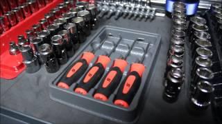First Tool Box Tour - Snap-on, Craftsman, Mastercraft