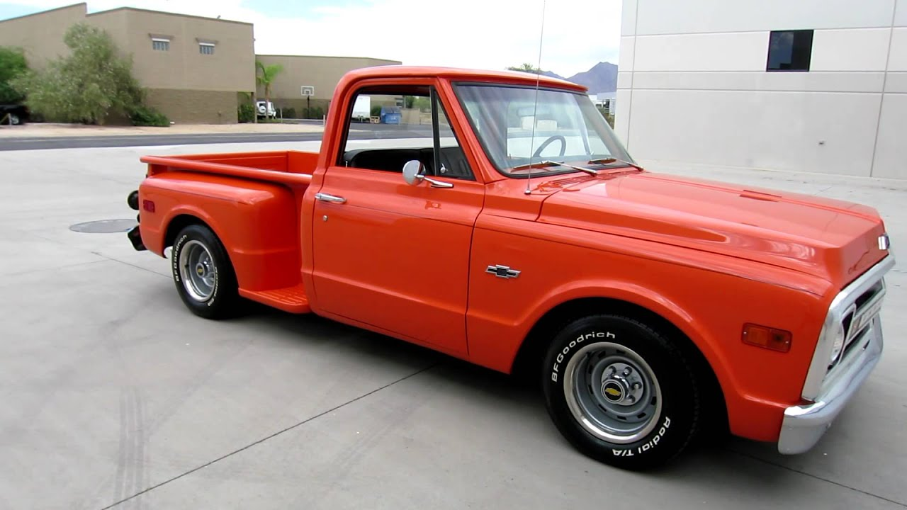1968 chevrolet c 10 stepside fully restored clean az truck for sale call joey 480 205 5880 youtube