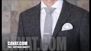 Cách gấp khăn cài túi hình bông hồng - Cavat.com
