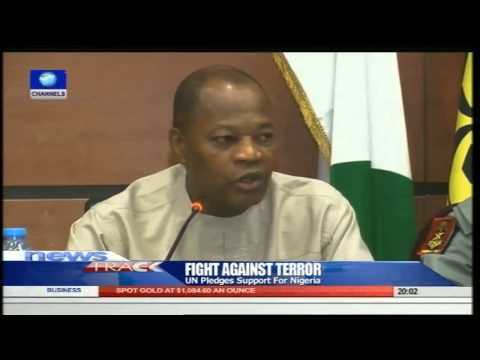 UN Pledges Support For Nigeria Against Insurgency