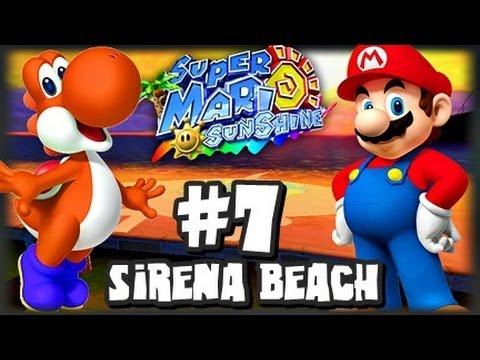 Super Mario Sunshine (1080p) - Part 7 - Sirena Beach