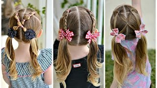 Three 5 Minute Pigtail Hairstyles