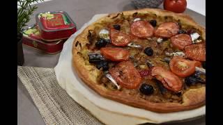 Recette tarte oignons sardines piments