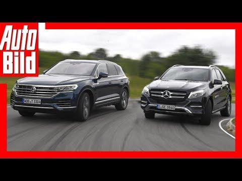 VW Touareg gegen Mercedes GLE (2018) Vergleich/Test/Review