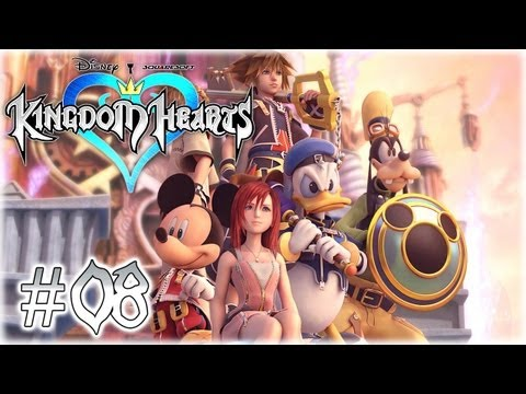 Kingdom Hearts Final Mix #08 Auf zu Alice im Wunderland! [German/Blind] - Kingdom Hearts Let's Play