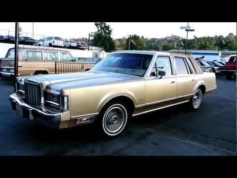 1985 Lincoln Town Car 5.0 Low Miles CHEAP Classic Youngtimer Ford Import Export Transport