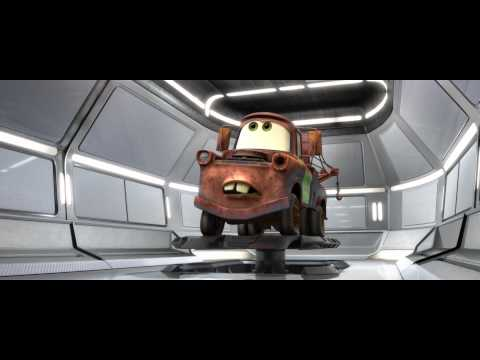 "Cars 2 funniest quote-""I want to siphon your gas"" and Mater's disguises"