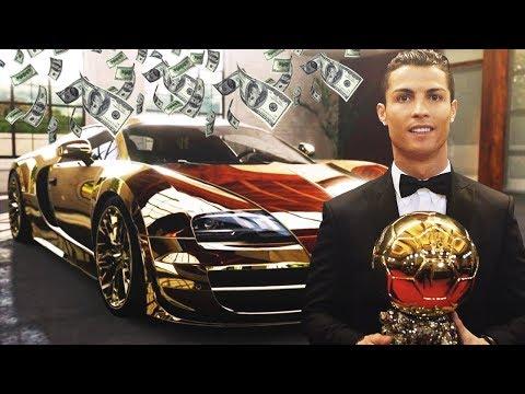 CRISTIANO RONALDO CARS COLLECTION TOTAL  COST  4.912.000 USD