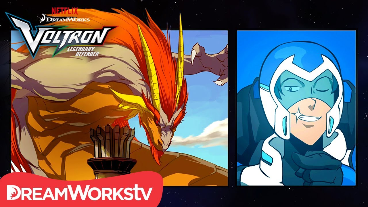 [MOTION COMIC] The Tale of Lance and the Dragon | DREAMWORKS VOLTRON  LEGENDARY DEFENDER