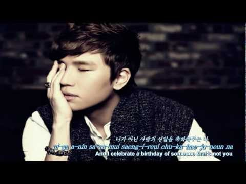 [Eng, Rom & Kor] K.Will - I Hate Myself (내가 싫다)
