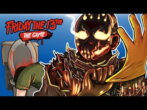 Friday The 13th - DLC SAVINI JASON RETURNS! (CATCHING EVERYONE!)