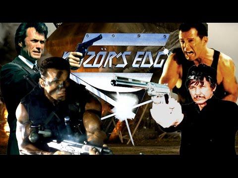 TOP 5 '80s ACTION STARS - Razör's Edge 5