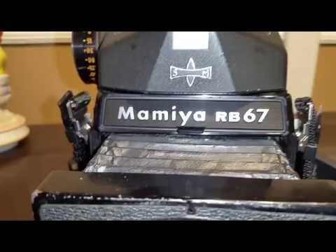 How to repair camera bellows on the Mamiya RB67 Pro S